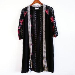 Vero Moda Women Black Patterned Light Cardigan S